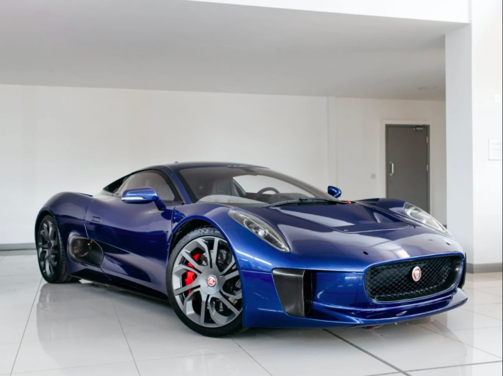 Jaguar C X75 From Spectre For Rare Supercar Prototype On