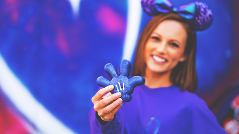 Disney's New Purple Glove Macaron Will Make You Want To Run To Disney