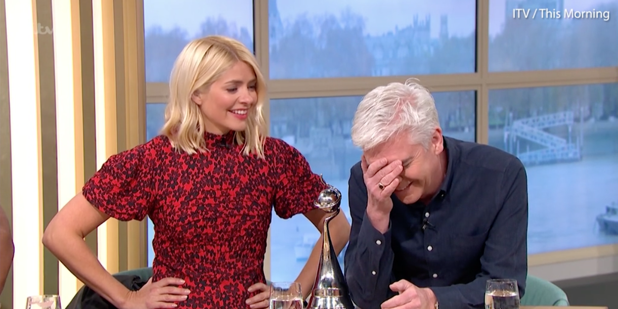 Holly Willoughby Philip Schofield This Morning