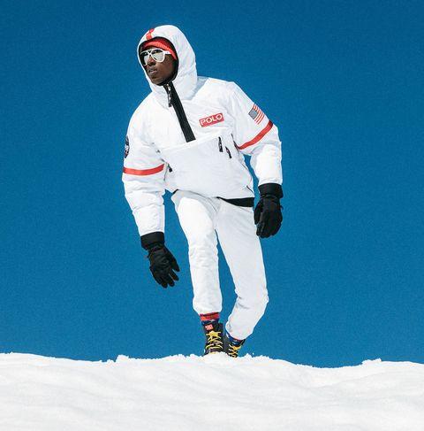 Snow, Skier, Winter, Recreation, Fun, Sports equipment, Outerwear, Winter sport, Ski,