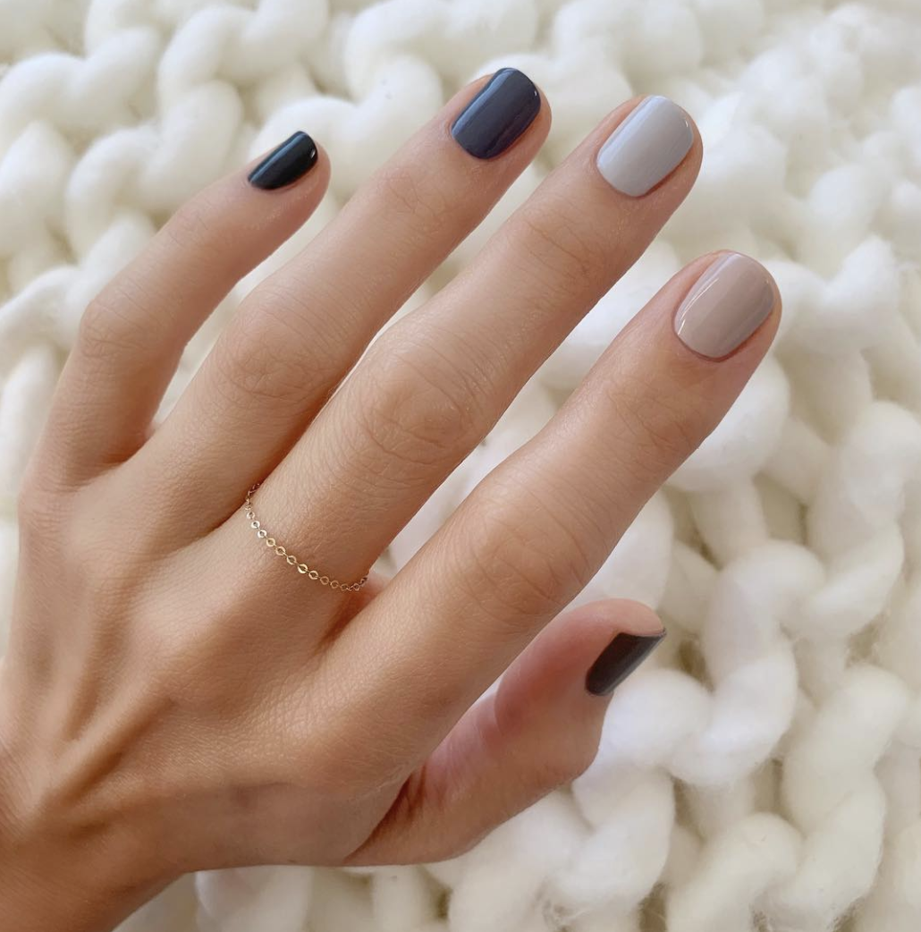 How to Wear the Muted Nail Color Trend - Muted Nail Polishes
