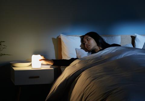 Bed, Bed sheet, Light, Bedding, Lighting, Room, Linens, Furniture, Bedroom, Shoulder,