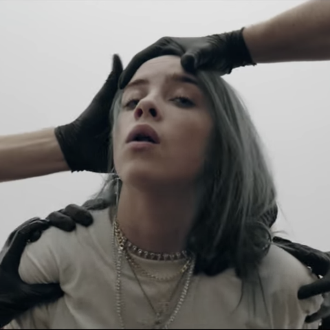 0184010c0b2f Billie Eilish Releases Creepy Music Video for  Bury A Friend  and ...