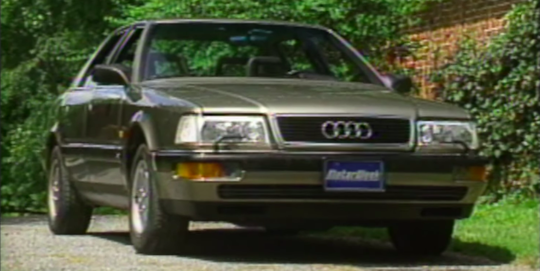 The 1989 V8 Quattro Was the First Modern Audi