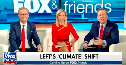 Fox & Friends Uses Polar Vortex to Doubt Climate Change - 'Left' Is