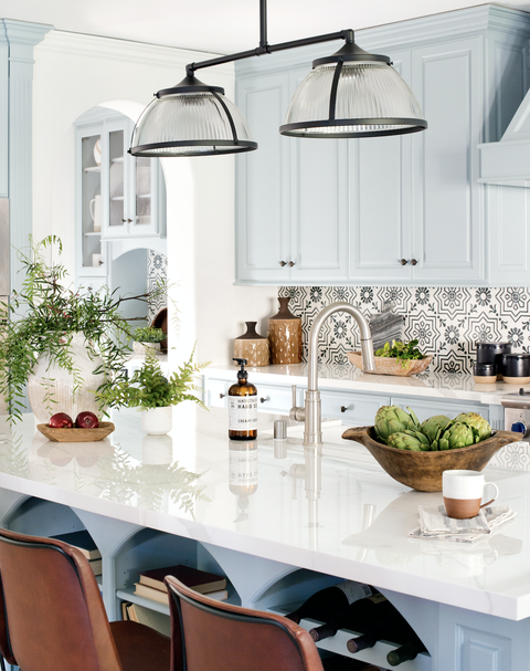 Countertop, White, Room, Kitchen, Furniture, Interior design, Dining room, Property, Home, Cabinetry,