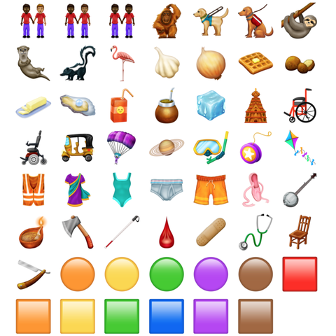 New Emojis 2019 Every New iOS Emoji Coming to Your iPhone In 2019