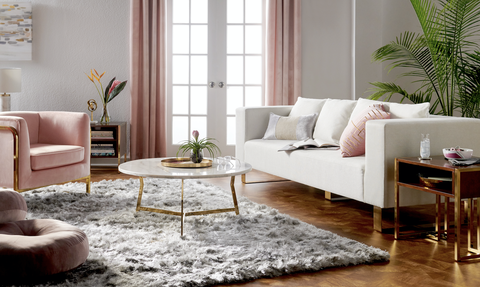Living room, Furniture, Room, Interior design, Coffee table, Floor, Couch, Property, Table, Flooring,