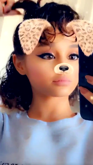Ariana Grande Just Showed Off What Her Real Curly Hair