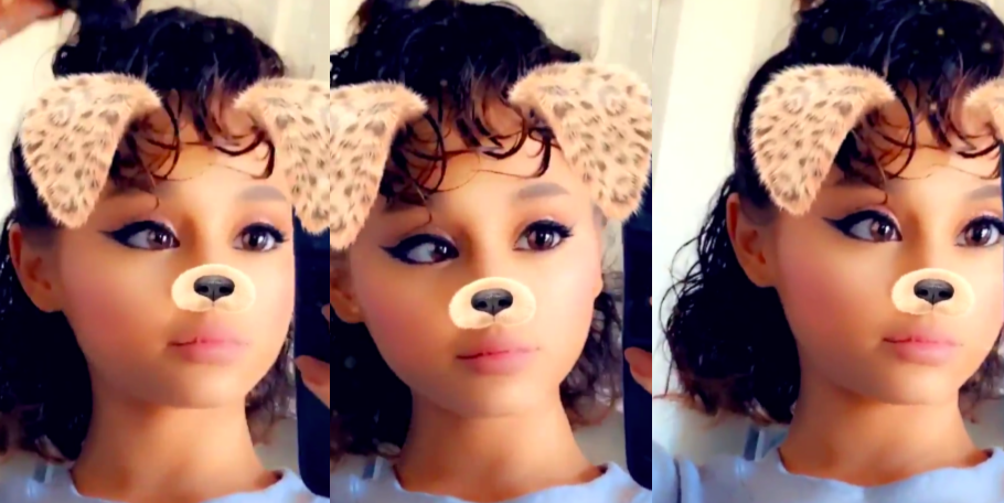 OMG, Ariana Grande Took Out Her Ponytail and Showed Her Real Hair