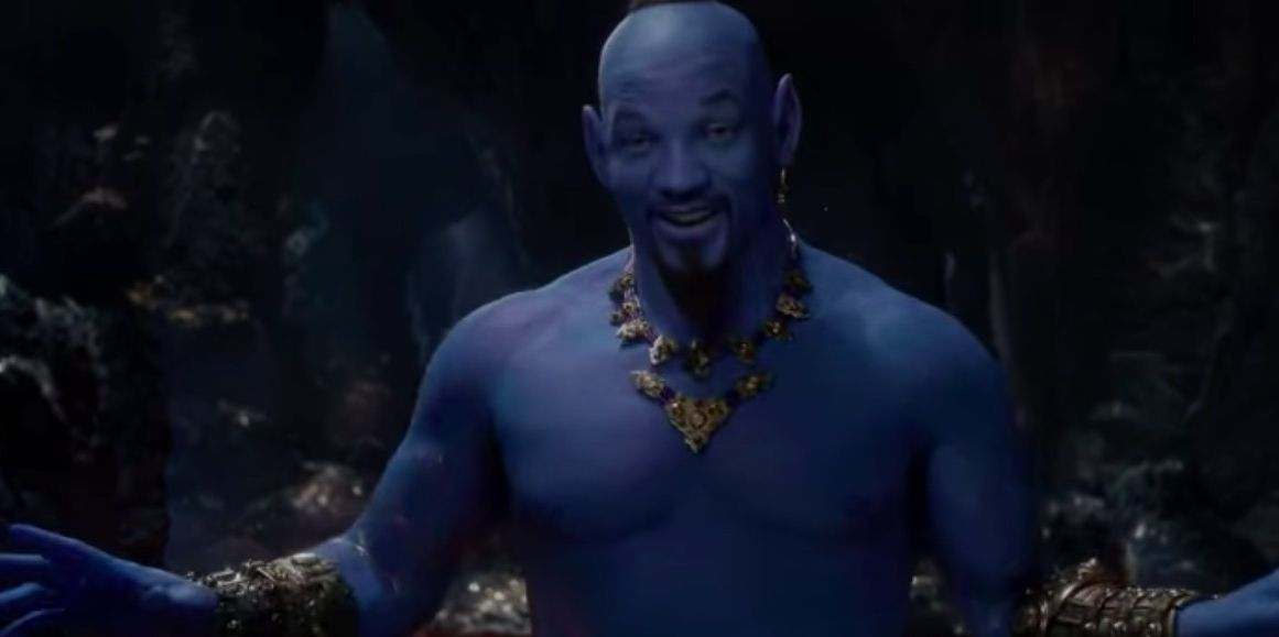 See Will Smith singing as the Genie in Aladdin for the