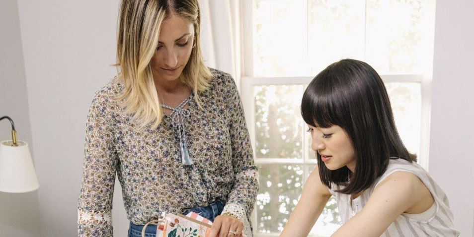 Celebrities Are Attempting Marie Kondo's Organizing Method—With Mixed Results