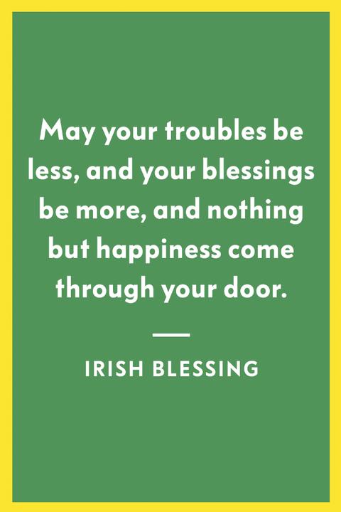 Image Majorie Chamberlain Irish Blessing