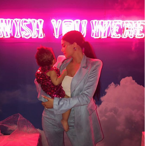 Kylie Jenner Shows Off Stormis First Birthday Presents
