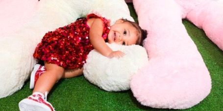 Kylie Jenner helps Stormi Webster to open her giant pile of birthday gifts