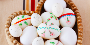 Easter egg decorating ideas photo