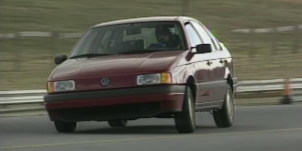 The 1990 VW Passat Was an Oddball When Sedans Were King
