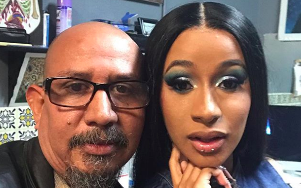 Cardi B Lip Piercing Cardi B Returns To Instagram Gets Lip Piercing
