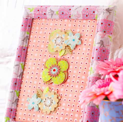 DIY gifts:Decoupage photo frame photo