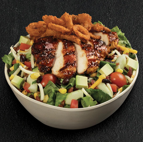 TGIFridays BBQ Chicken Salad With Ranch Dressing