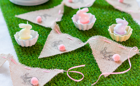 How to sew this adorable Easter bunny bunting