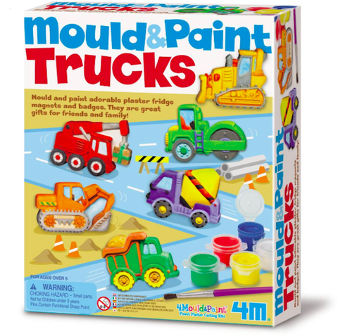 Mould and paint trucks