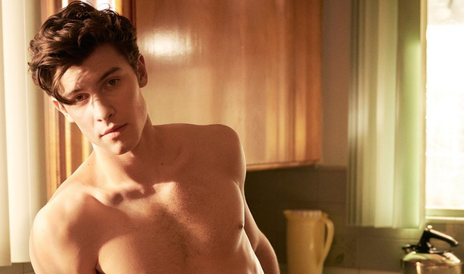 So Many Celebs are Leaving Thirsty Comments on This Shirtless Photo of Shawn Mendes