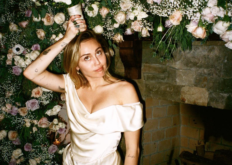 Miley Cyrus Wedding Dress.Miley Cyrus Is Sharing More Photos And Details From Her Wedding And