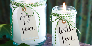 Mother's Day craftHomemade candles  - diy scented candles