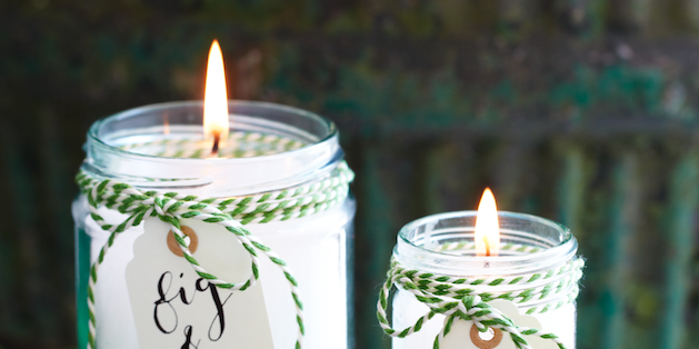 Mother's Day craftHomemade candles -diy scented candles