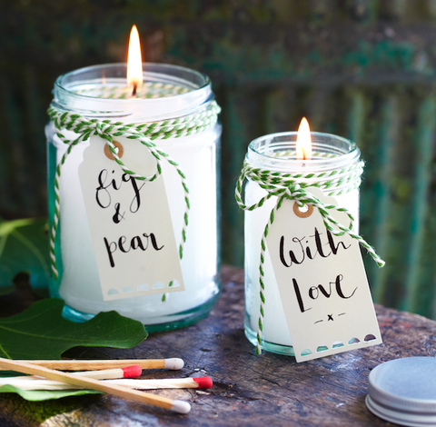 How to make scented candles at home
