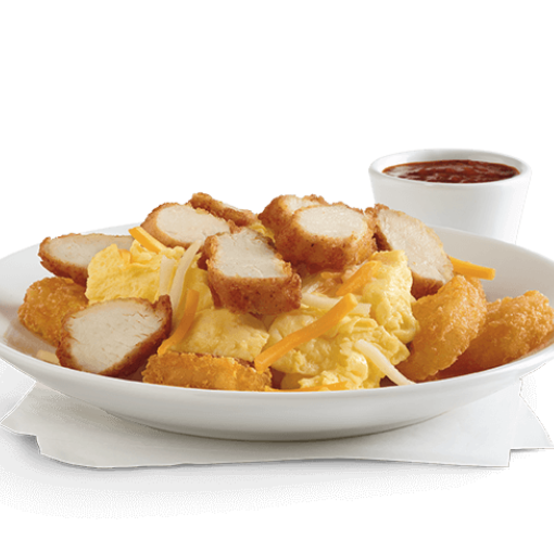 Best low-carb fast foods: Chick-fil-A hash brown scramble bowl with sausage