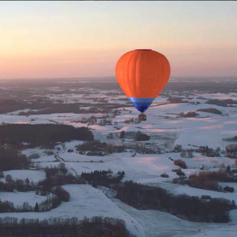 Hot air ballooning, Hot air balloon, Air sports, Sky, Balloon, Vehicle, Morning, Atmosphere, Recreation, Air travel,
