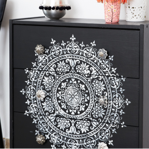 upcycle an old chest of drawers