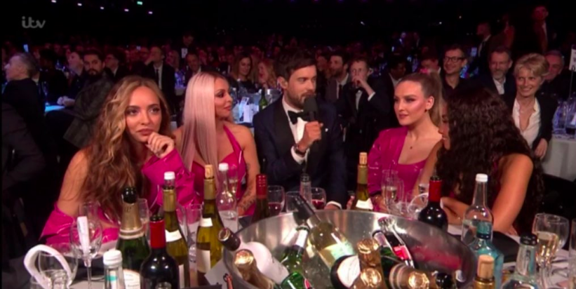 Jack Whitehall and Little Mix's exchange at the Brits was very awkward