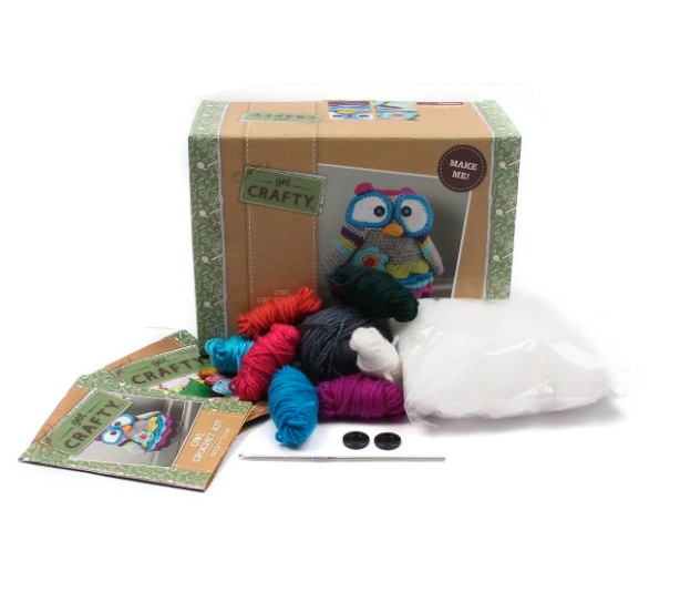 Crochet owl kit