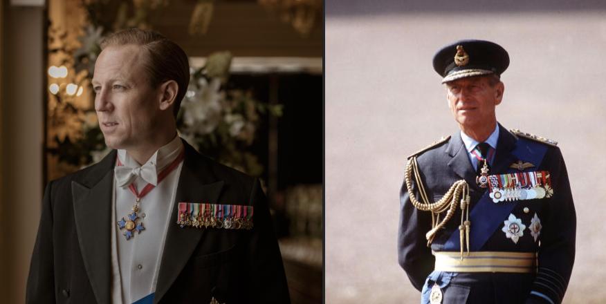Prince Philip, the Duke of Edinburgh (seasons three and four)