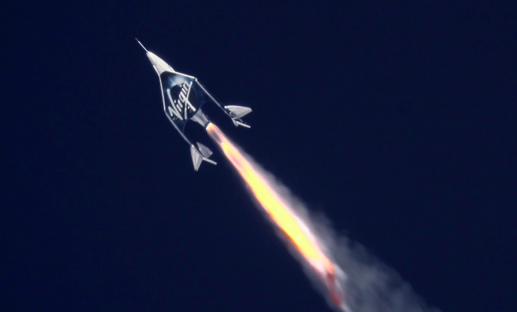 Virgin Galactic Reaches the Edge of Space—This Time with a Passenger