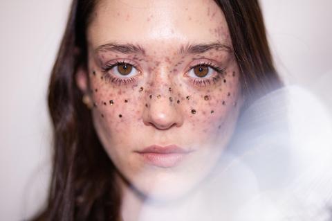 Marco De Vincenzo AW19 Diamante Freckles