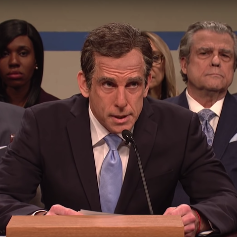 09e067d8 Ben Stiller and Bill Hader Returned to SNL to Roast the Cohen Hearing