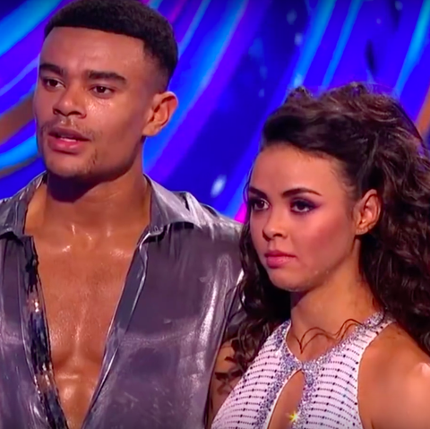 Dancing On Ice Viewers Spot Vanessa Bauer S Awkward Reaction After