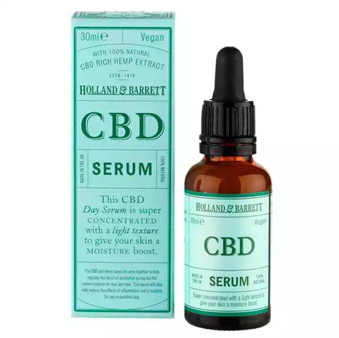 Holland & Barrett CBD face serum for dry skin
