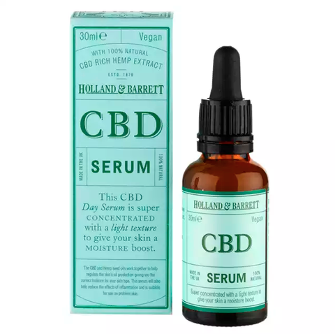 Holland & Barrett CBD face serum for dry skin
