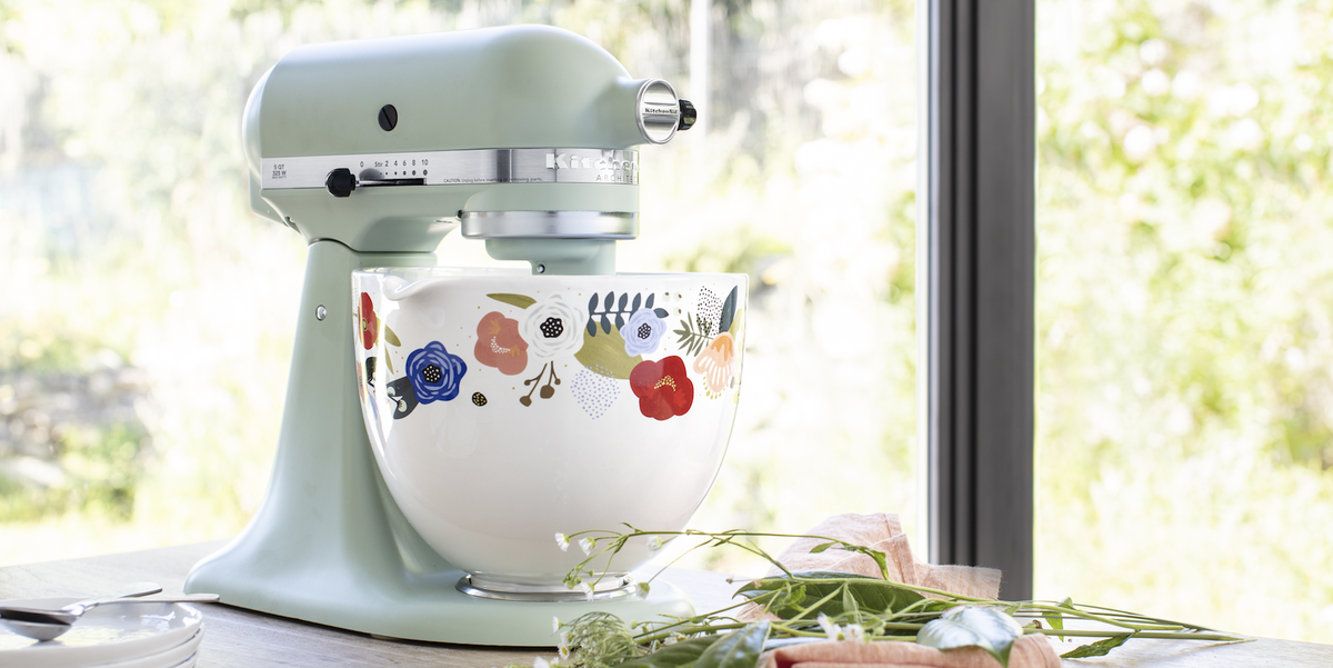 Kitchenaid Created New Stand Mixer Ceramic Bowls With Fun