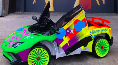 Land vehicle, Vehicle, Car, Radio-controlled car, Radio-controlled toy, Automotive design, Model car, Sports car, Toy, Automotive wheel system,