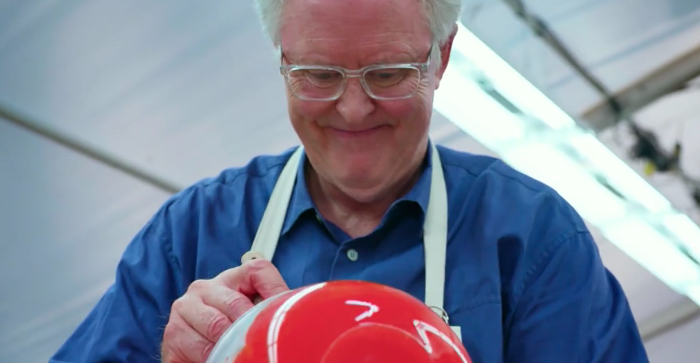John Lithgow's version of a Swiss roll shocked Bake Off fans