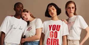Net-a-Porter International Women's Day T-Shirts
