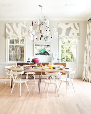 Pale Wood Floors Require A Bit Of Extra Work But The Result Is Super Chic As Seen In This Dining Room By Angie Hranowsky