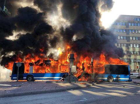 Fire, Explosion, Flame, Transport, Smoke, Event, Heat, Vehicle, Emergency, Asphalt,