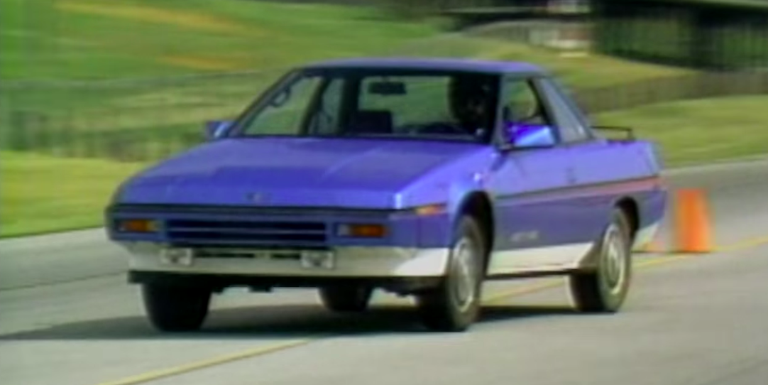 The XT Coupe Was the New Face of Subaru in 1985